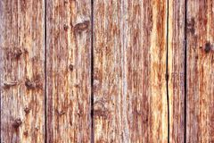 Old Distressed Brown Terracotta Copper Rusty Wooden Background with Rough Texture Multicolored Inclusions. Stained. Gradient Coarse Grainy Surface. Wallpaper royalty free stock photos