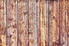 Old Distressed Brown Terracotta Copper Rusty Wooden Background with Rough Texture Multicolored Inclusions. Stained. Gradient Coarse Grainy Surface. Wallpaper stock photography