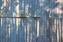 Old distressed painted chipped white wall with lines royalty free stock image