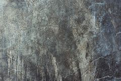 Free Old Distressed Scratched Cement Concrete Wall Background With Grungy Texture. Gradient Black Gray Blueish Colors And Shades Royalty Free Stock Images - 148147109