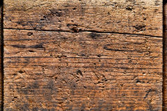 Old Distressed Wood Plank Background Stock Photo