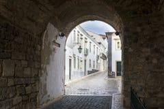 Old district in Faro, Portugal Stock Photo