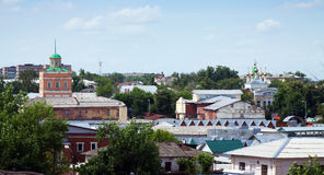 Old district of Murom. Russia Stock Photo