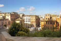 Old district of Rome Stock Photo