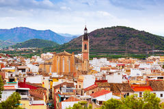 Old district of Sagunto Stock Images