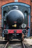 Old disused coal steam locomotive Stock Photography