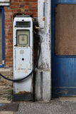 Old Disused Petrol Filling Station Stock Image