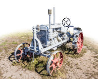 Old disused tractor Stock Images