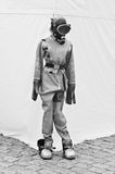Old diving equipment royalty free stock image