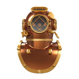Old Diving Helmet Royalty Free Stock Image