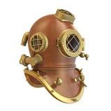 Old Diving Helmet Stock Image