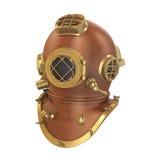 Old Diving Helmet Stock Photo