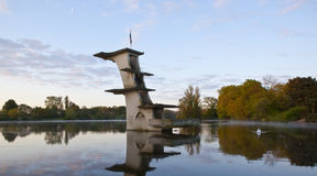 Old Diving Platform Coate Water Royalty Free Stock Images