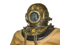 Old diving suit Royalty Free Stock Photo