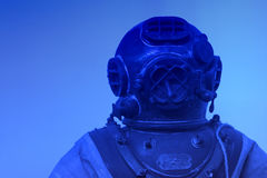Old Diving Suit Stock Photography