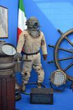 Old diving suit Royalty Free Stock Image