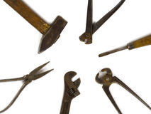 Old DIY tools Royalty Free Stock Image