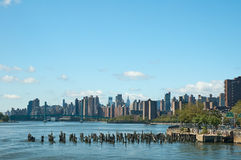 Old docks of New York Royalty Free Stock Photo