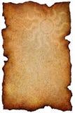 Old document on white background Stock Image