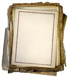 Old documents Royalty Free Stock Photos