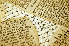 Old Documents Royalty Free Stock Images