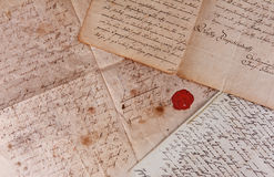 Old documents Stock Photo