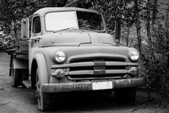 Old Dodge truck. This is a old Dodge truck that has been used for years by a cotton factory in Tistedal Norway stock images