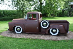 An old dodge truck on display in ontario Royalty Free Stock Photography