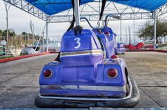 Old dodgem motorbike Royalty Free Stock Images