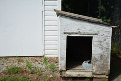 Old doghouse Stock Photo