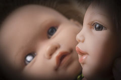 Old Doll Head Detai. L, concept royalty free stock photography