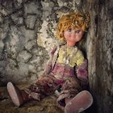 Old doll Royalty Free Stock Images