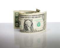 Old dollars Royalty Free Stock Photo