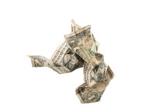 Old dollars Royalty Free Stock Image