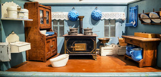 Old dollhouse Royalty Free Stock Images
