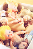 Old dolls Stock Photography