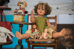 Old dolls Royalty Free Stock Images