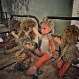 Old dolls Royalty Free Stock Photography