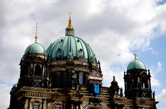 Old dome catherdral in berlin Royalty Free Stock Photo