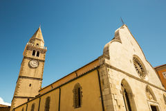 Old Dome of Muggia Royalty Free Stock Images