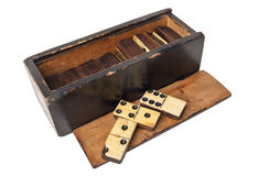 Old domino Royalty Free Stock Images