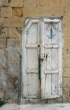 Old door. In Old house in old city in Jordan called Al_salt Stock Photo