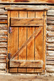 Old door. Sunlight a summer Royalty Free Stock Images