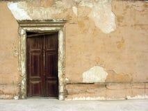 Old Door. Old wood door in Cairo citadel stock photography