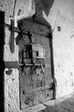 Old door. Prison Door in the Doge's Palace Royalty Free Stock Images
