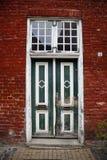 Old door. In Dutch Quarter of Potsdam, Germany Stock Images