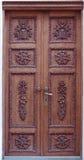Old door. Beautiful old door Royalty Free Stock Photo