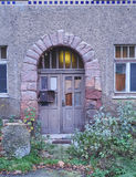 Old door in Altenburg, Germany Stock Images