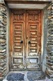 Old door. In Andalusien spain stock photography