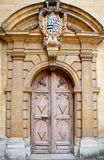 Old door background, Oxford Royalty Free Stock Photo
